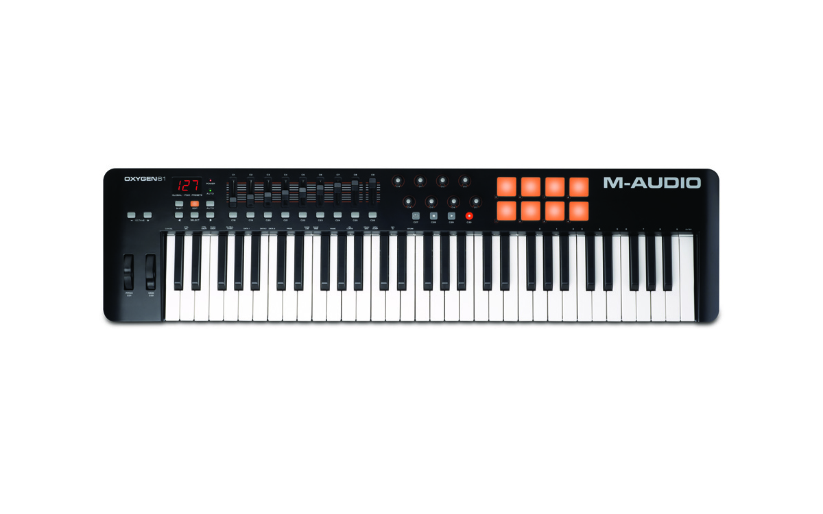 M-Audio Oxygen 61 MKIV61-Key USB MIDI Keyboard /& Drum Pad Controller