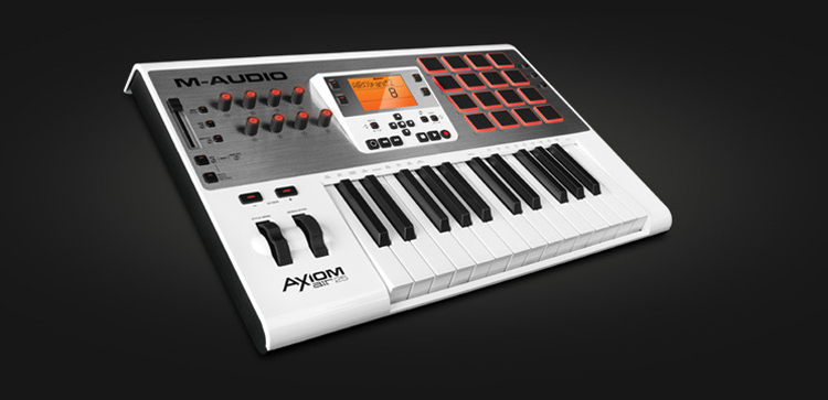 m-audio axiom 25 driver download mac