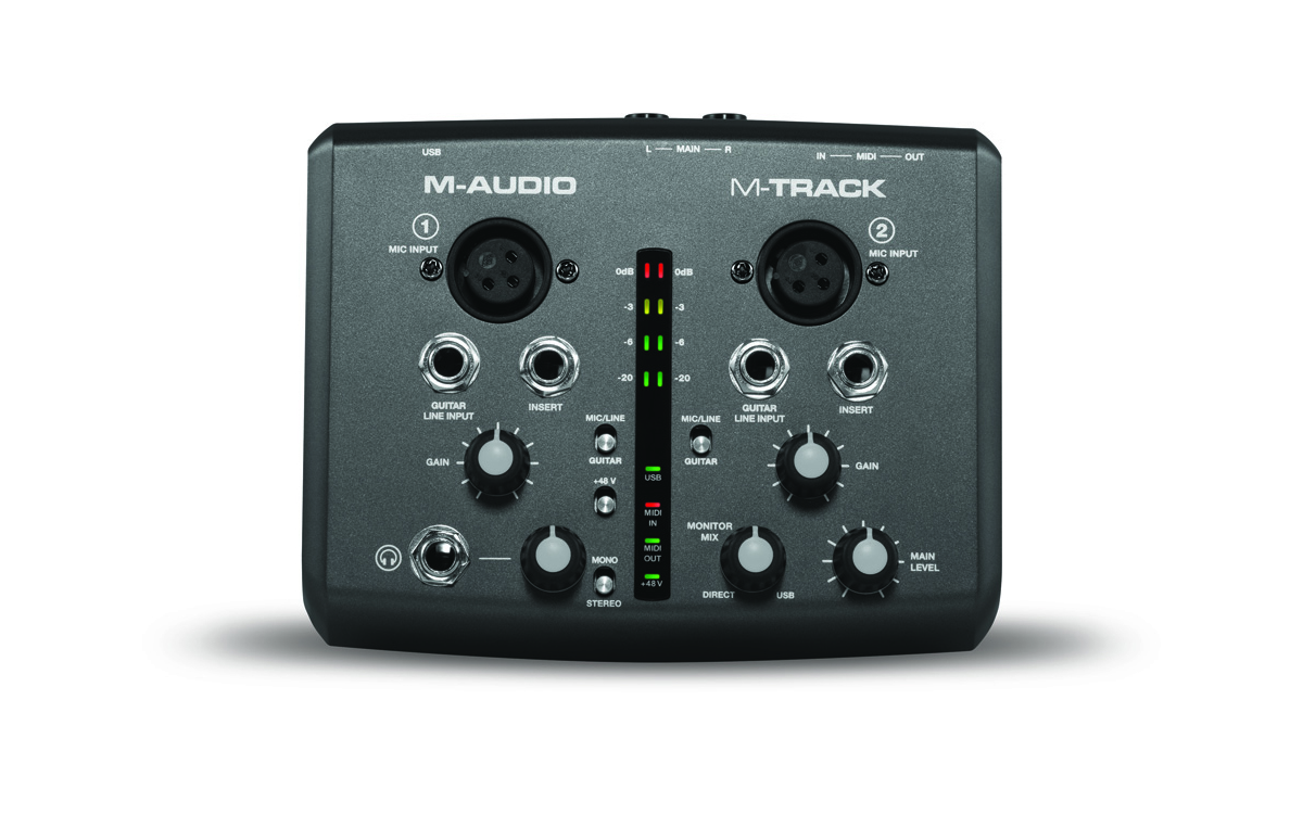 M Audio 5 Channel Portable Mixer