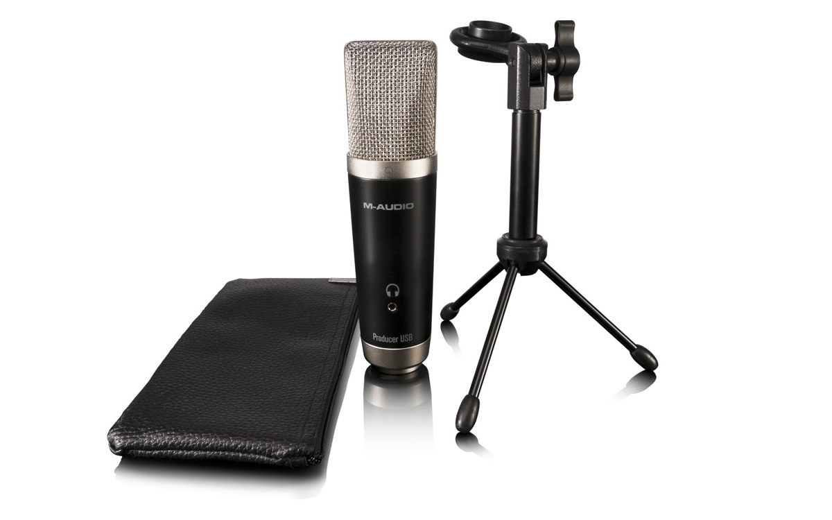 Image result for m-audio microphone usb